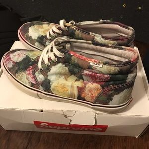 Vans Shoes - Supreme floral chukkas